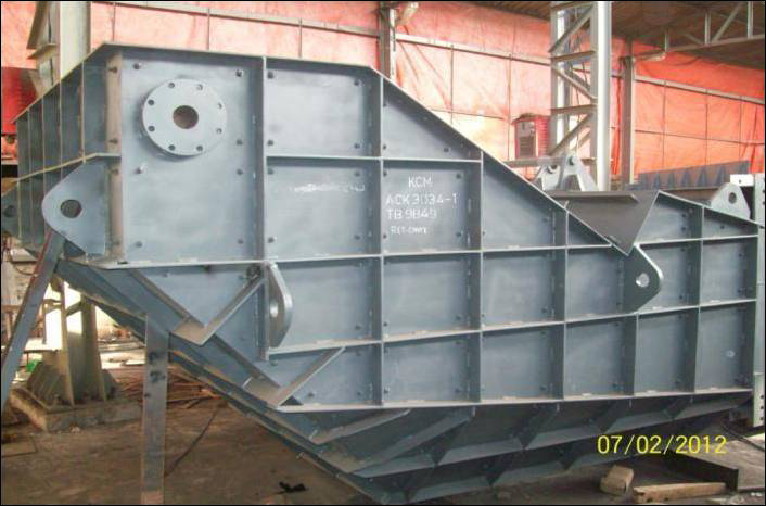 Fabrication Work for Mining Industries Equipments